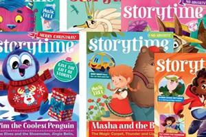 《Storytime 2019全年少儿英文杂志》 英语学习必不可少读物PDF 百度云网盘下载