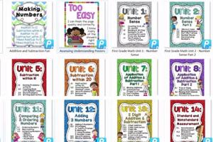 《数学启蒙练习册unit1-18》适合一年级学生 PDF格式 百度云网盘下载