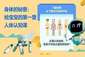 《年糕妈妈:人体认知》动画人体启蒙课程 MP4视频 百度云网盘下载