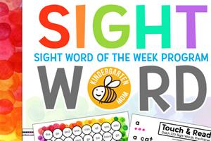 《sight word of the week》高频词英文练习册PDF共380页 百度云网盘下载