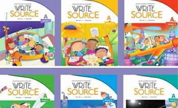 《write source》Grade 1-Grade 12 孩子写作MP3英文练习册PDF 百度云网盘下载