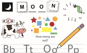 《Get Ready for Kindergarten》幼儿学前启蒙英文练习册PDF 百度云网盘下载