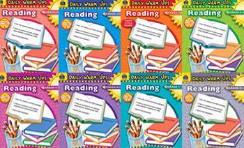 《Daily warm-ups Reading》Grade 1-Grade 8 阅读理解英文练习册PDF 百度云网盘下载