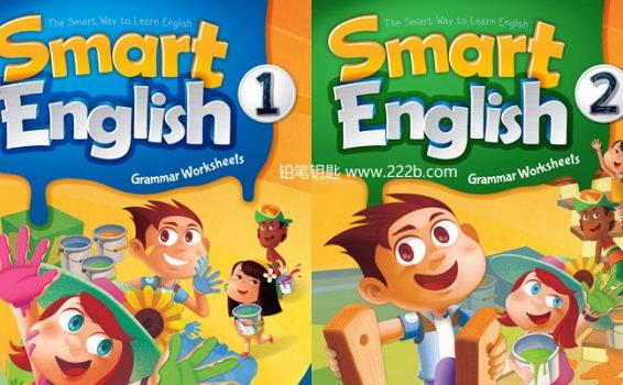 《Smart English Grammar全套1-6级别》基础语法高效学PDF 百度云网盘下载