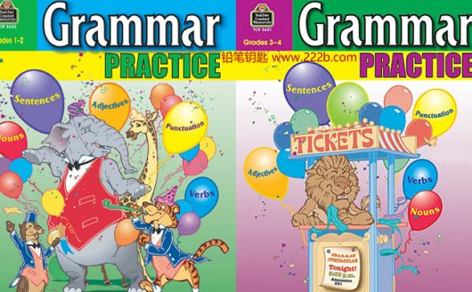 《Grammar_Practice_Grades英文教材》语法练习PDF含答案 百度云网盘下载