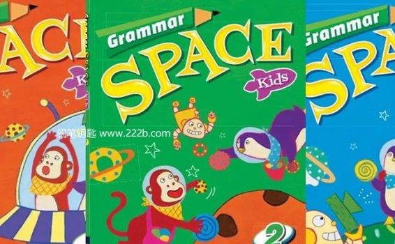 《Grammar Space Kids少儿语法教材全三册》英文练习册PDF 百度云网盘下载