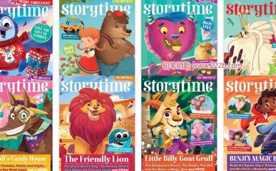 《Storytime儿童故事54期英文杂志资源》2015年-2020年PDF 百度云网盘下载