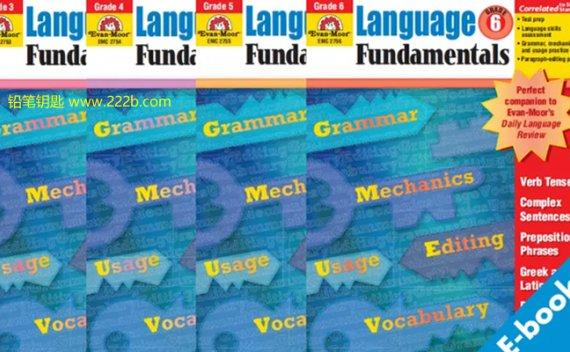《Language Fundamentals练习册G1-G6》小学语法PDF 百度云网盘下载
