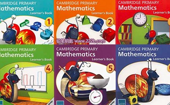 《Cambridge Primary Mathematics learner's book G1-G6》剑桥小学数学 百度云网盘下载