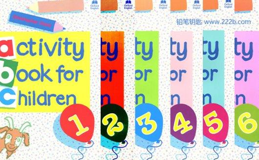 《Oxford activity book for children》全六册阅读写作练习册PDF 百度云网盘下载