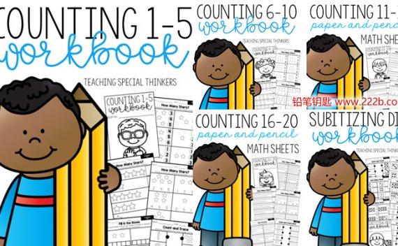《Math Workbooks Mega-bundle》30册幼小数学练习册 百度云网盘下载