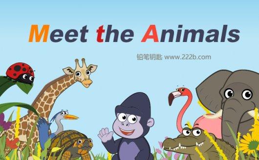 《Meet the Animals》全62集MP4视频+MP3音频+PDF故事书 百度云网盘下载