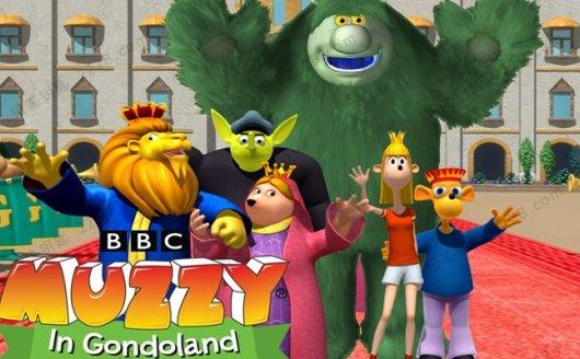 《玛泽的故事Big Muzzy》英文版动画词汇+音频+单词图卡+互动软件 百度云网盘下载