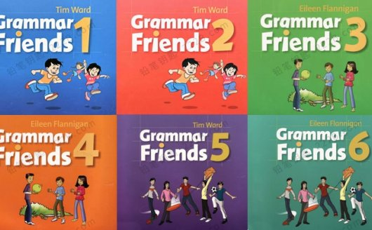 《Grammar Friends》1-6级牛津少儿语法朋友全套教材+教师用书PDF 百度云网盘下载