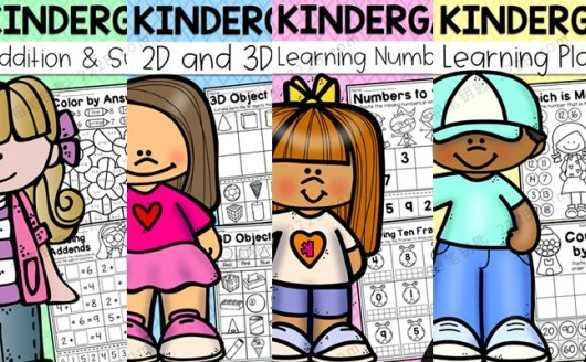 《Kindergarten Math Worksheet Bundle》加减法数学启蒙作业纸PDF 百度云网盘下载