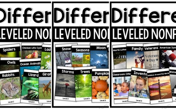 《Differentiated Leveled Nonfiction》全三册阅读理解练习册 百度云网盘下载