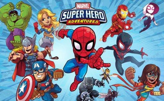 《Marvel Super Hero Adventures》全20集超级英雄英文动画视频 百度云网盘下载