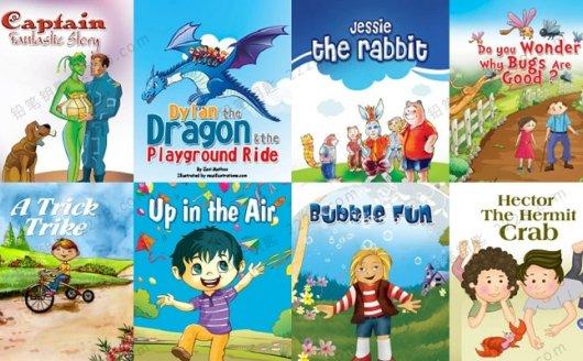 《Monkey Pen英文绘本合集》50本儿童英文阅读PDF 百度云网盘下载