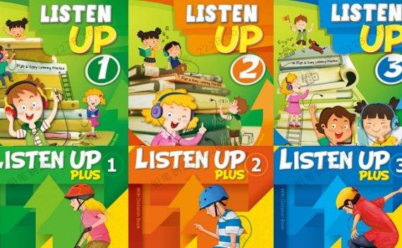 《Listen up&Plus英语听力教材》课本练习册PDF+MP3音频 百度云网盘下载