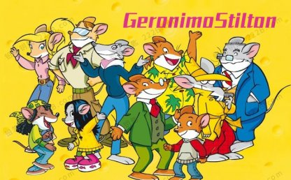 《老鼠记者Geronimo Stilton》1-3季英文版64集动画视频 百度云网盘下载