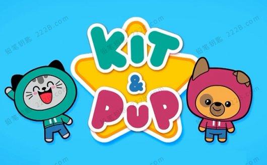 《吉吉猫和皮皮狗Kit and Pup》第一季英文版全26集MP4视频 百度云网盘下载