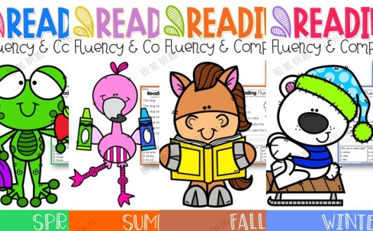 《Reading Fluency and Comprehension》四季阅读理解英文练习册 百度云网盘下载