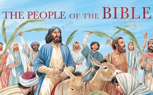 《The People of the Bible》208页DK圣经人物英文绘本PDF 百度云网盘下载