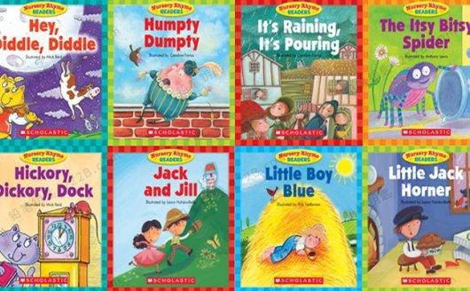 《Scholastic Nursery Rhyme Readers》12册英文童谣绘本PDF+MP3 百度云网盘下载