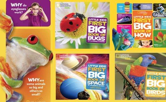 《Little Kids First Big Book》11册英文儿童百科读物PDF 百度云网盘下载