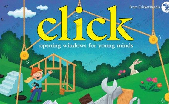 《Click点击世界》2016年-2020年英语自然科普杂志PDF 百度云网盘下载