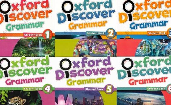 《Oxford Discover Grammar G1~G6》语法教材PDF 百度云网盘下载