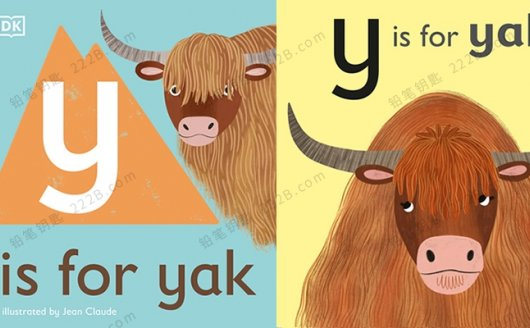 《DK动物字母认知》全26册启蒙英文绘本PDF 百度云网盘下载