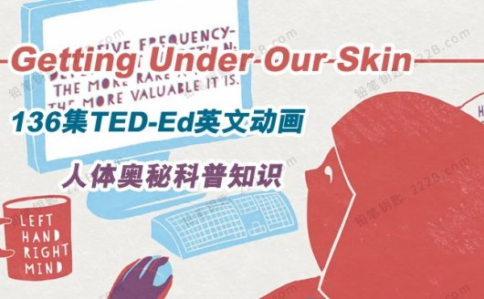 《Getting Under Our Skin》136集人体奥秘TED-Ed英文动画 百度云网盘下载