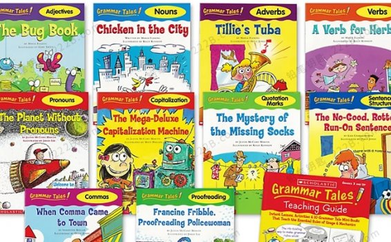 《Grammar Tales》10册学乐语法绘本故事PDF+MP3 百度云网盘下载