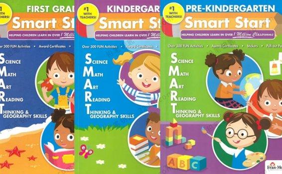《Evan-Moor Smart Start》prek-GK三册综合英文练习册PDF 百度云网盘下载