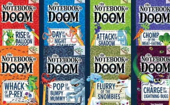 《The Notebook of Doom》8册学乐英文绘本故事PDF 百度云网盘下载