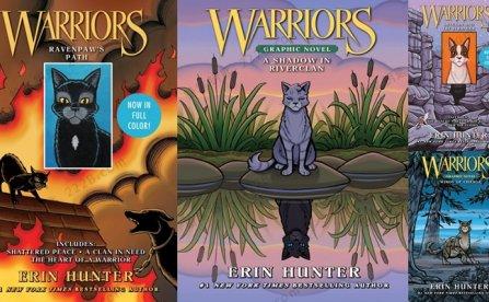《Warriors Graphic Novel 猫武士》四册儿童漫画英文绘本PDF 百度云网盘下载
