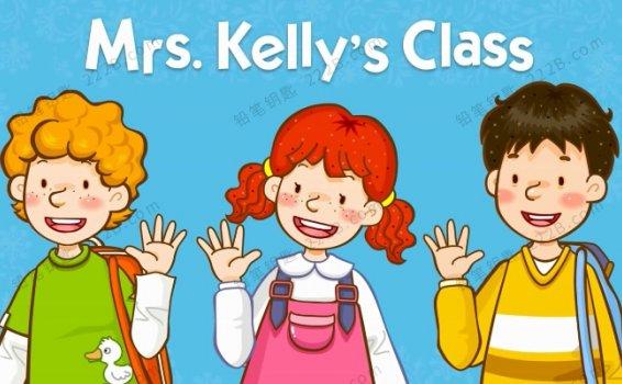 《Mrs. Kelly's Class凯丽太太的课堂》全36集视频+音频+绘本PDF 百度云网盘下载