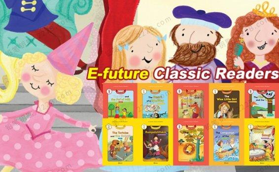 《E-future Classic Readers》60集英语分级童话故事视频+练习题 百度云网盘下载
