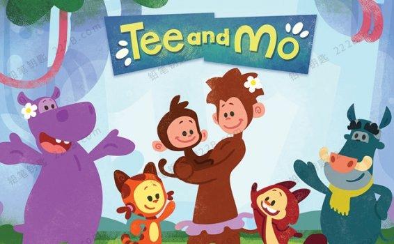 《小提与莫莫Tee and Mo》全50集英文版益智动画视频 百度云网盘下载
