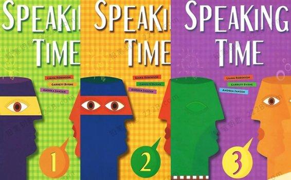 《Speaking Time 1-3》少儿口语演讲英文教材PDF+MP3 百度云网盘下载