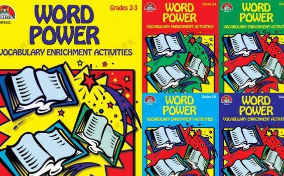 《word power》G2-G7基础词汇英文练习册附答案PDF 百度云网盘下载