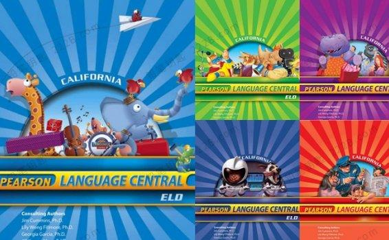 《Pearson Language Central》加州小学语文G1-G5学生用书闪卡练习册答案 百度云网盘下载