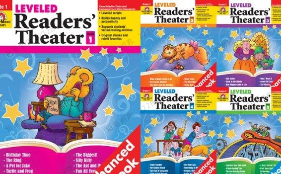 《Evan moor Readers Theater》G1-G5读者剧场口述朗读练习册PDF 百度云网盘下载