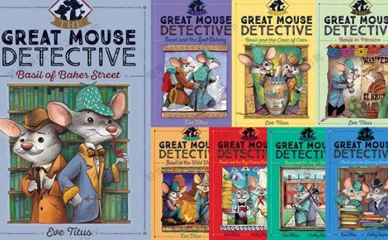 《神探妙鼠The Great Mouse Detective Series》1-8册PDF+MOBI+EPUB+音频 百度云网盘下载